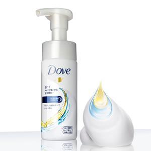 ダヴ 3in1 メイクも落とせる洗顔料はメイク落とし、洗顔、化粧水の3つの役割が1本に