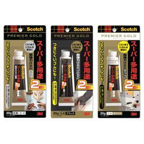 3M,スコッチ,超強力接着剤,プレミアゴールド,スーパー多用途2