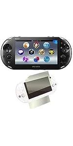 PlayStation Vita ブラック amazon.co.jp限定特典 液晶&背面保護フィルム付