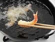 天ぷら 温度 保つ キープ あげもの 安心 防止 発火 センサー 温度 なべ底 安心