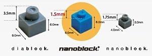 ナノブロックプラス ダイヤブロック ナノブロック
