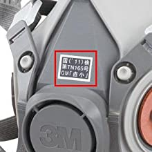 3M 방독 마스크 유기 가스 흡수 캔, 면체 다이옥신 카트리지