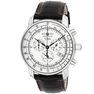 pretty nice 40a1c 830de [ツェッペリン]ZEPPELIN 腕時計 Special Edition 100 Years Zeppelin アイボリー 76801 メンズ  【正規輸入品】