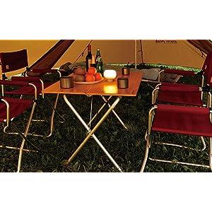 ワンアクションローテーブルタケ 使うシーンを選ばない美しい竹集成材テーブル