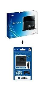PlayStation 4 ジェット・ブラック 500GB (【Amazon.co.jp限定特典】ACアダプタ for DUALSHOCK4付)