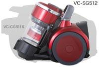 東芝 TORNEO V サイクロンクリーナー VC-SG512