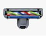 東芝 紙パック式クリーナー フローリングターボヘッドタイプ ブルー色 VC-PC6A(L)