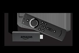 Fire TV Stick - Alexa対応リモコン<br>(第2世代)付属
