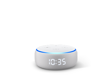 Echo Dot with clock(第3世代)