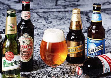 充実の品揃え 輸入ビール
