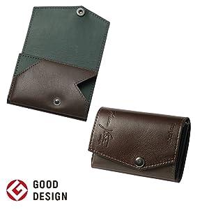e2b48e76a5e2 手のひらやポケットにさっと収まるコンパクトサイズで、一般的な小さい財布より、ダントツに小さい財布を目指したabrAsus (アブラサス)の「小さい財布 」です。