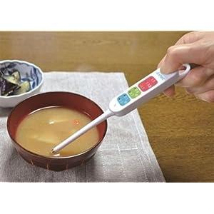 ドリテック 健康塩分計 ホワイト EN-900WT