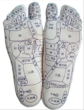 「足裏反射区 靴下」の画像検索結果