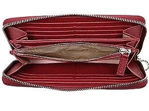 83c8bf02c9f5 イタリアを代表する高級ラグジュアリーブランド『BVLGARI』ブルガリより、人気の長財布が入荷しました。 パッと目を惹く鮮やかなルビーレッド。  ファスナー持ち手の ...