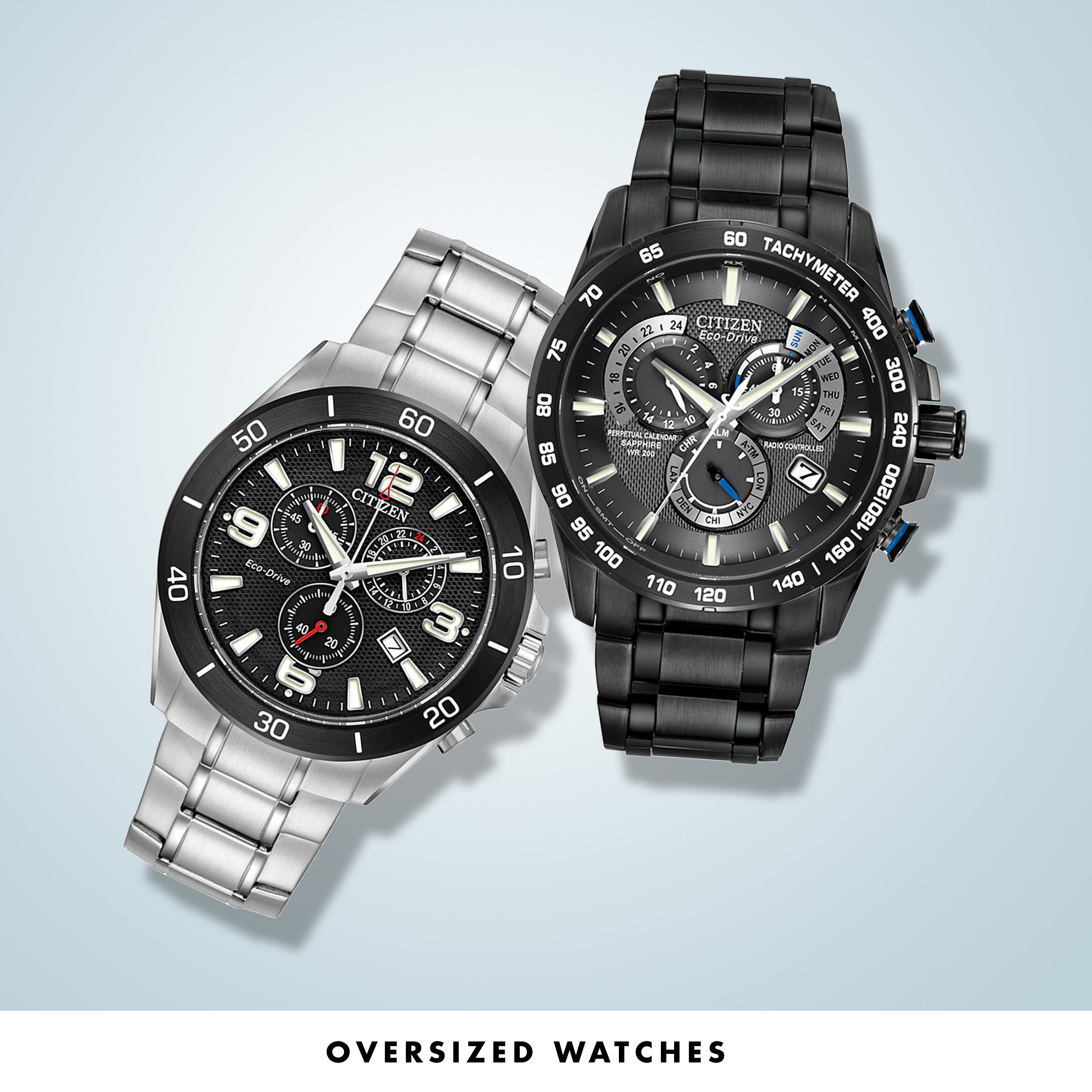 Oversized Watches