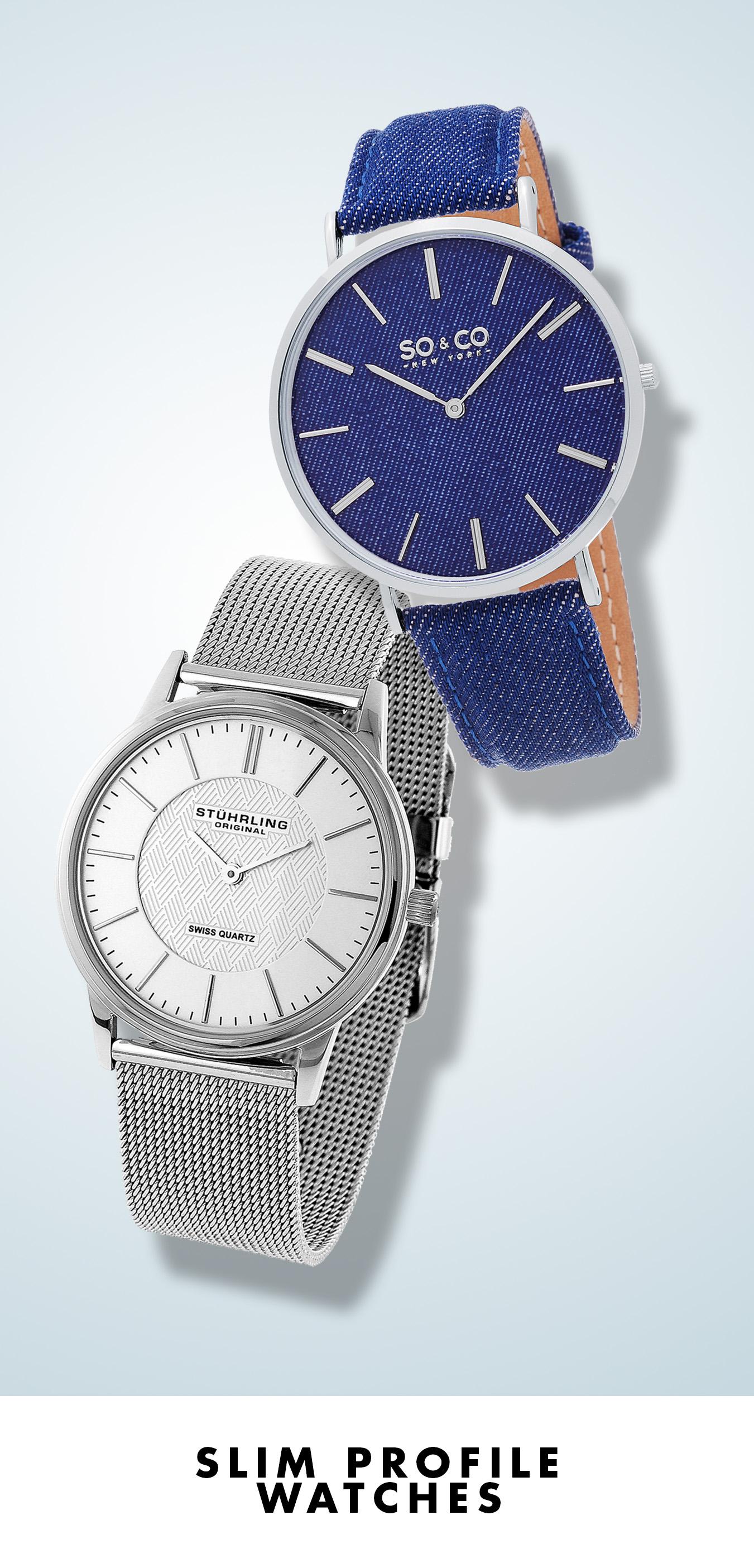 Slim Profile Watches