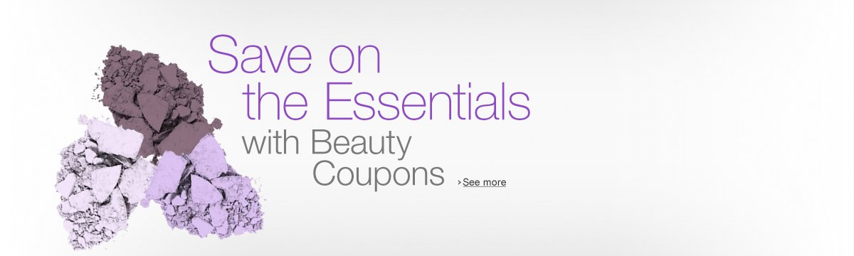 Save on Beauty with coupons