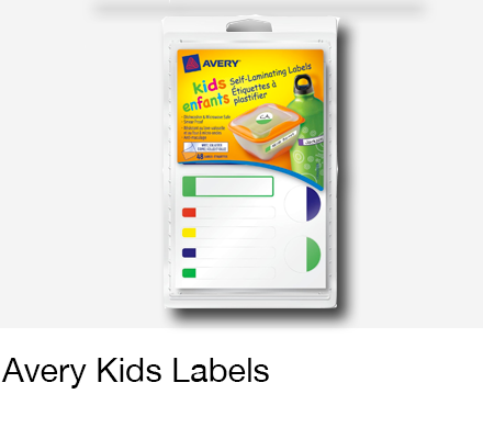 Avery Kids Labels