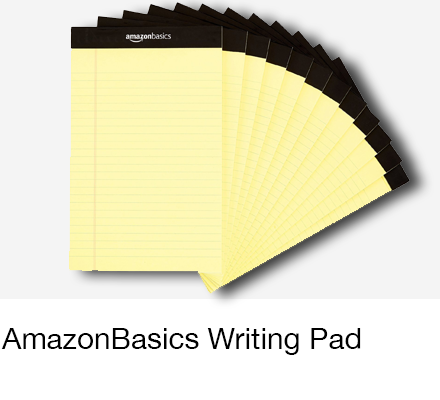 AmazonBasics Writing Pad