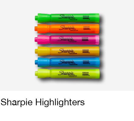 Sharpie Highlights