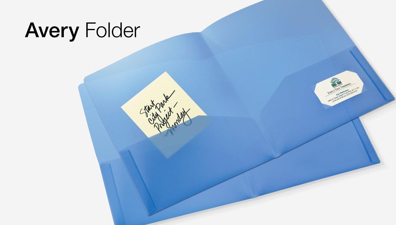 Avery Folder