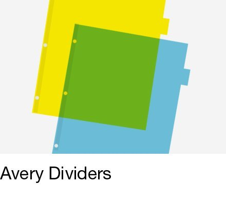 Avery Dividers