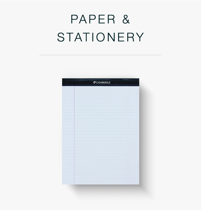 Paper & Stationary