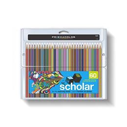 Prismacolor Scholar Art Pencils, 60 Pack