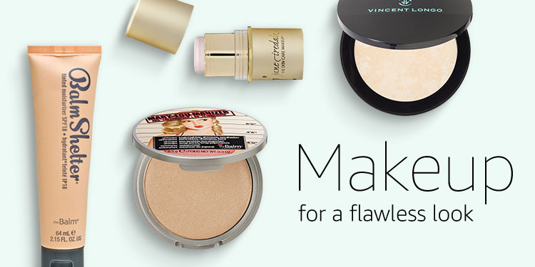 Makeup for a flawless look