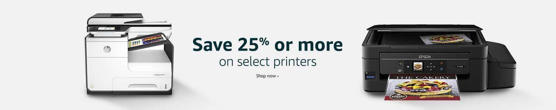 25% off printers
