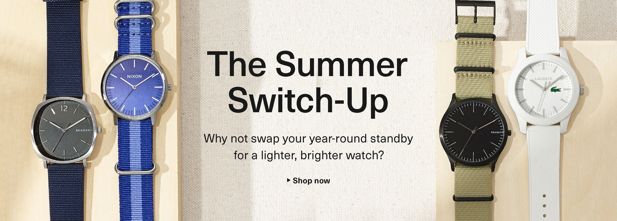 The Summer Switch-Up