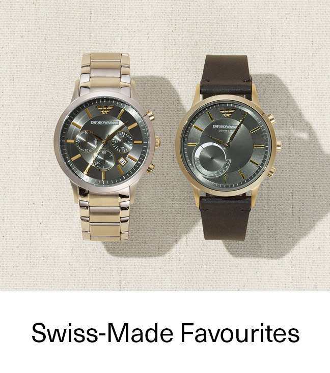 Swiss-Made Favorites
