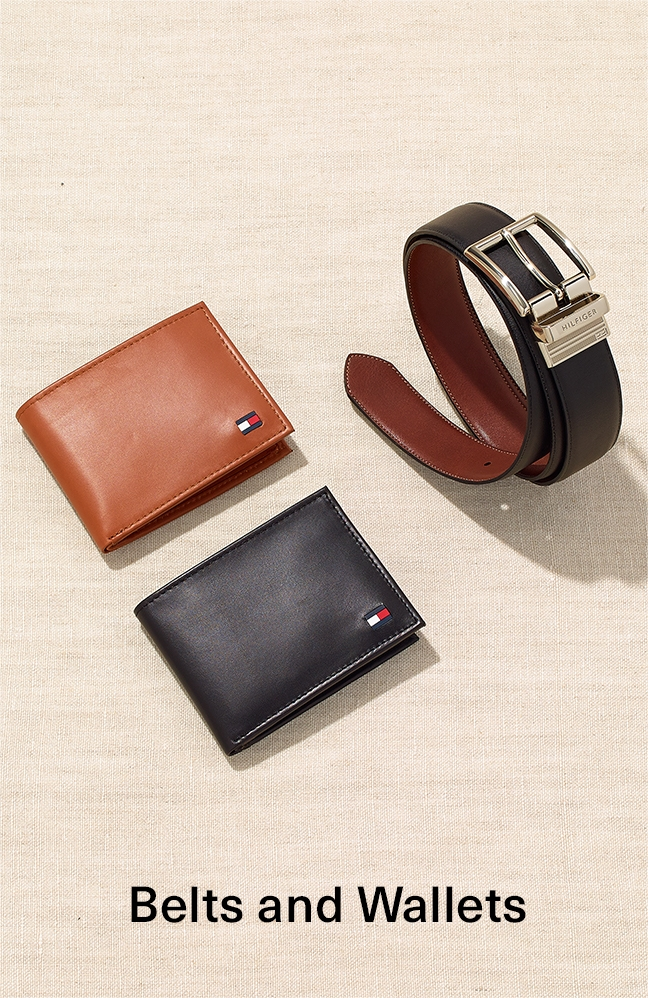 Belts and Wallets