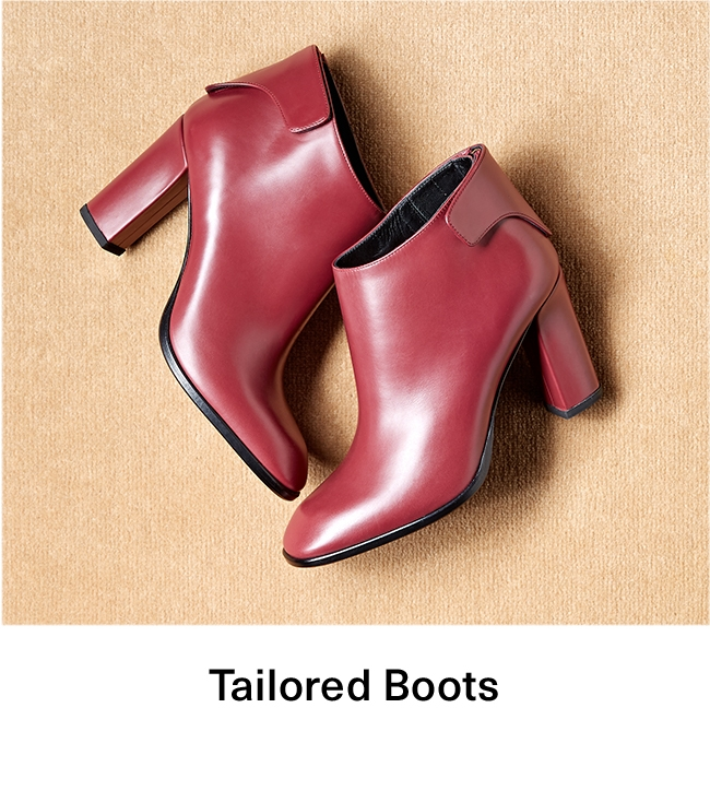 Tailored Booties