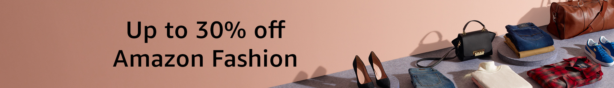 Up to 30% Off Amazon Fashion