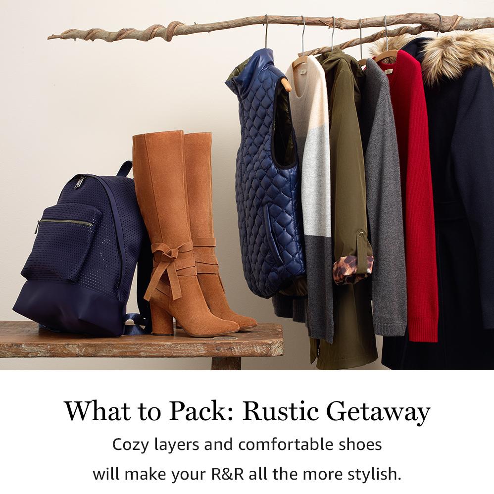 What to Pack: Rustic Getaway