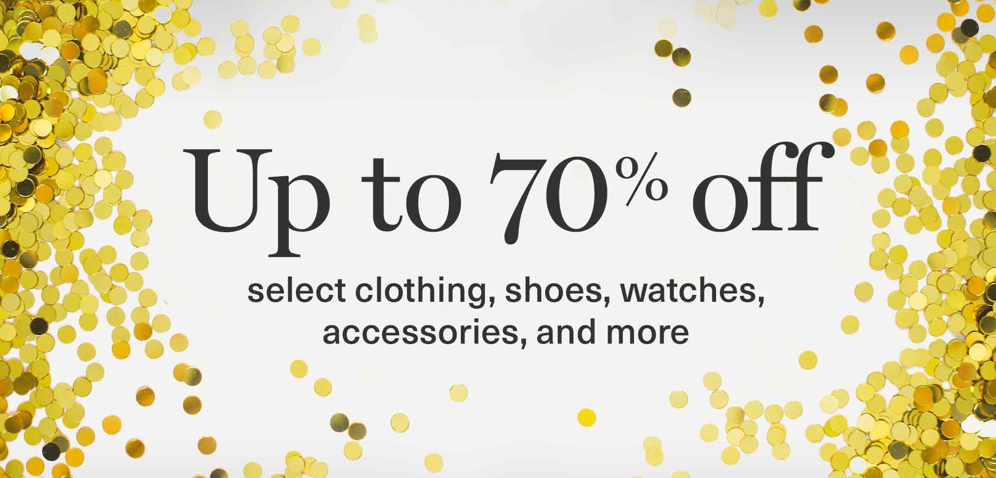Celebrate Boxing Week: Up to 70% off select clothing, shoes, watches, accessories and more