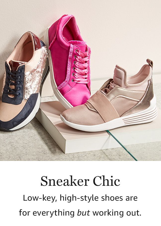 Sneaker Chic: Low-key, high-style shoes are for everything but working out.