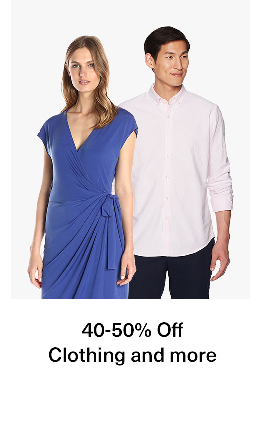 40-50% Off Clothing and more