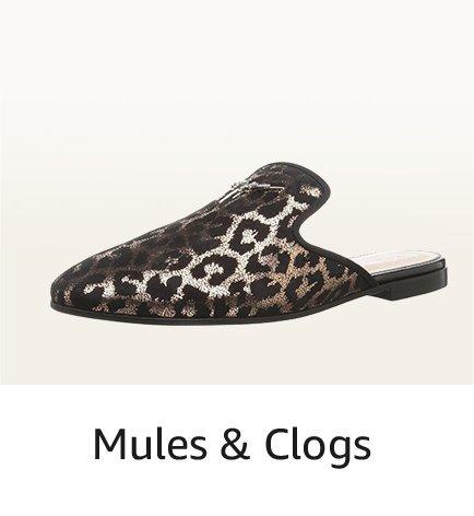 Mules & Clogs
