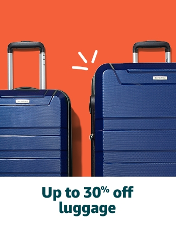 Up to 30% off luggage