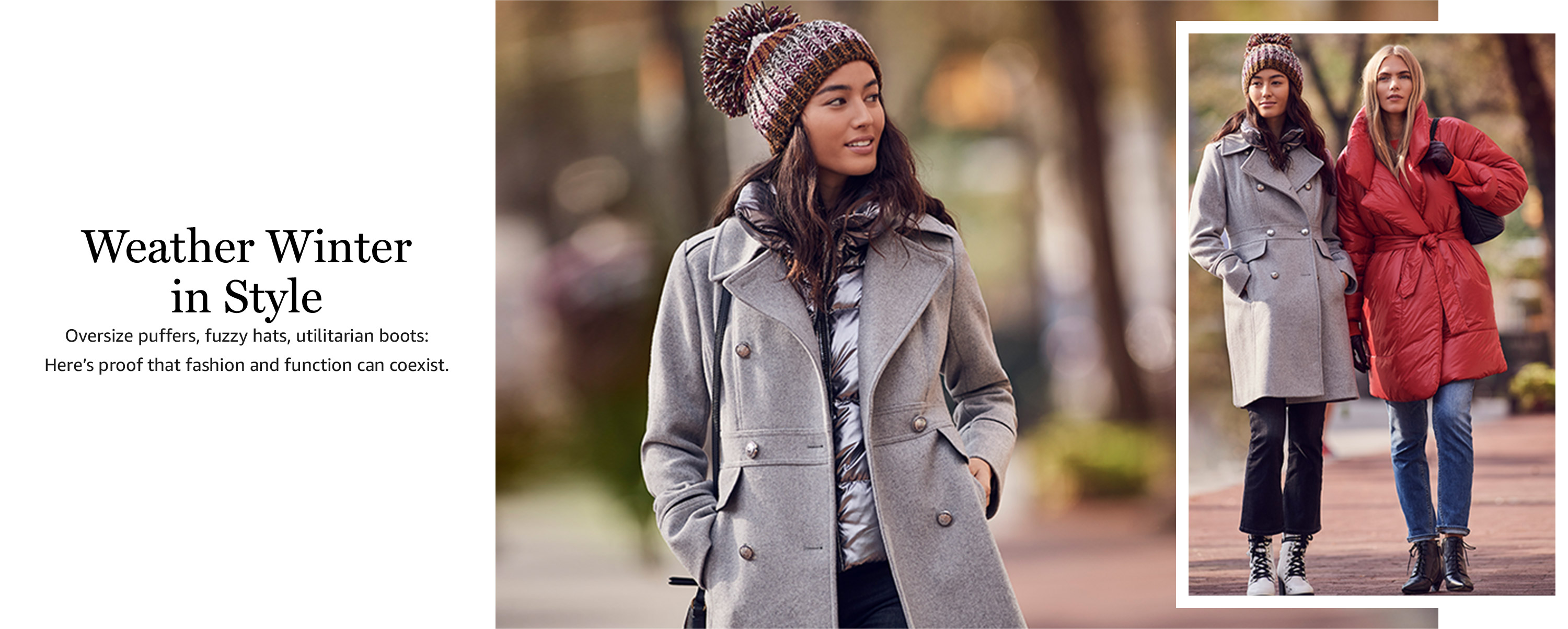 Winter weather in style