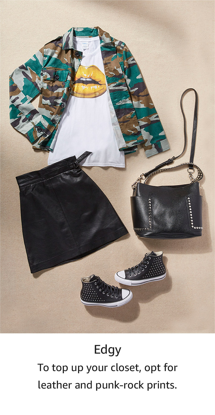 Shop your style: edgy