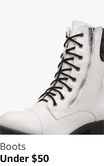Boots under $50