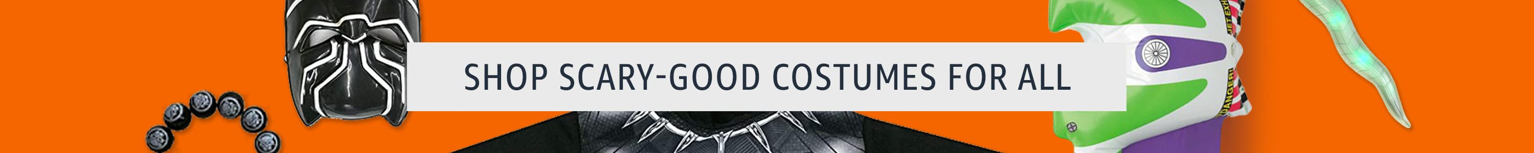 Shop scary-good costumes for all