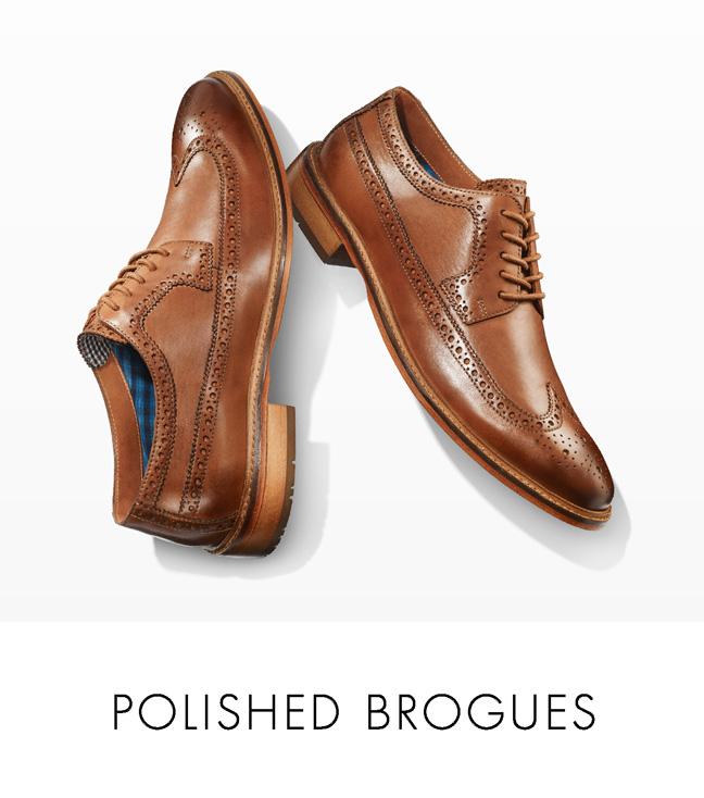 Polished Brogues