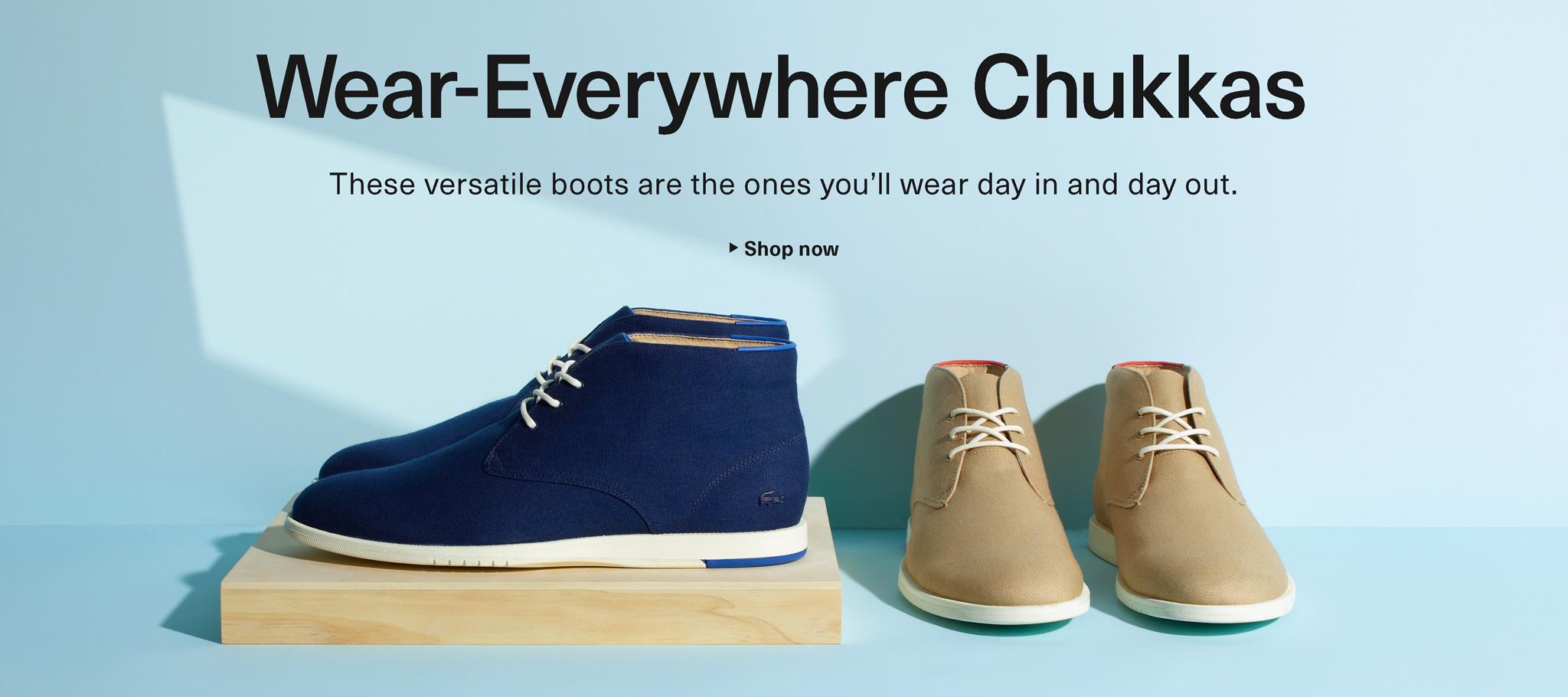 Wear-Everywhere Chukkas