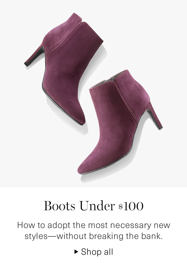 Boots Under $100