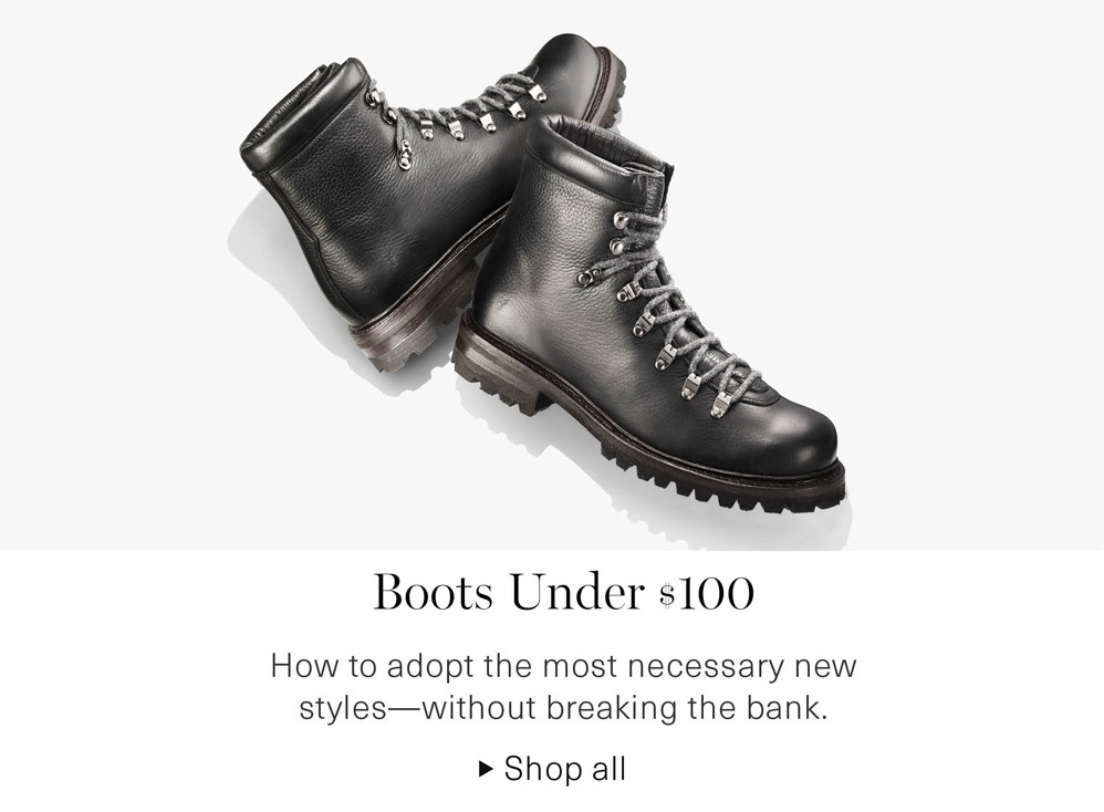 Boots Under $100