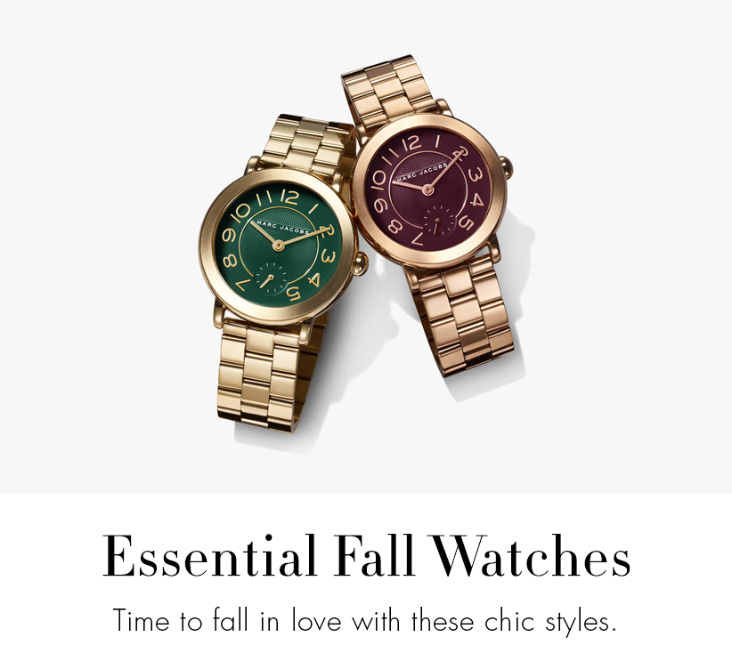 Essential Fall Watches